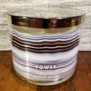Bath & Body Works Power Onyx Candle